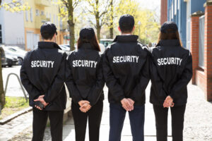 hiring a security guard company