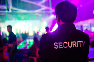 nightclub security guard