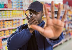 grocery store security