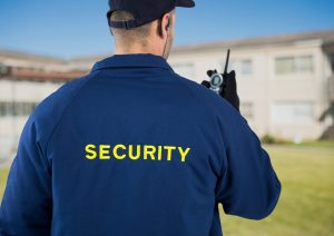 apartment security guard