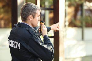 guard walkie talkie