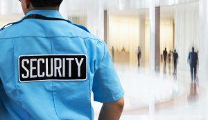 male security guard