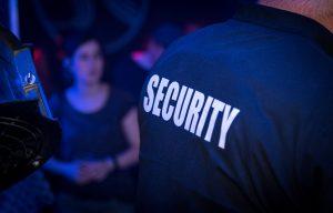 security guard night club